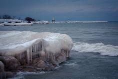 Winter Shoreline 3 by Bruce Michels on 500px