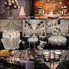 Jennifer Childress Photography | Wedding | Atrium at the Curtis Center | Philadelphia, PA | Loews Hotel | Cescaphe Events Group | Beautiful Blooms | Cheekadee | Wedding Details | Wedding Cake    www.jennchildress.com