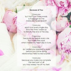 Simply put this is about LOVE, about meeting that one special person before whom life did not have real meaning. A simple and yet very powerful poem. For more unique, contemporary poetry, please visit my poetry blog: https://www.inspiredbyelle.com/blogs/a-poem-a-day #poem #poetry #love #happiness #people #relationships #feelings #memories #life #romance #special #moments