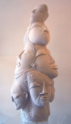 Textile Sculpture by Karine Jollet