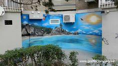 Resultado de imagen de graffitis de playas