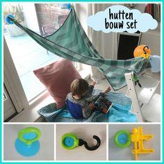 Super leuk speelgoed: een hutten bouw set #leukmetkids #creatief #speelgoed #hut #tent #verjaardag