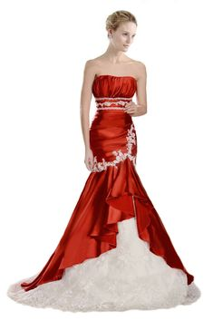 FairOnly Custom Made Mermaid Wedding Dresses Bridal Gown Size 6 8 10 12 14 16++