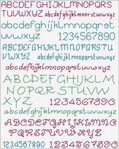 Maria Diaz Designs - Free Cross Stitch Charts Cross Stitch Font, Cross Stitch Al. Cross Stitch Letter Patterns, Wedding Cross Stitch Patterns, Cross Stitch Letters, Cross Stitch Books, Cross Stitch Bookmarks, Cross Stitch Borders, Cross Stitch Samplers, Cross Stitch Designs, Cross Stitching