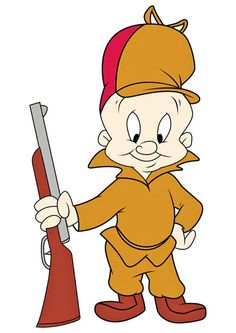 HAPPY BIRTHDAY to ELMER FUDD! Fictional cartoon character in the Warner Bros. Looney Tunes/Merrie Melodies series, and an adversary of Bugs Bunny. He has one of the more disputed origins in the Warner Bros. cartoon pantheon (second only to Bugs himself) Looney Tunes Characters, Classic Cartoon Characters, Looney Tunes Cartoons, Favorite Cartoon Character, Classic Cartoons, Cartoon Kunst, Cartoon Drawings, Cartoon Art, Cartoon Illustrations