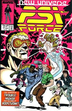 PSI-Force # 17 by Ron Lim & Al Milgrom