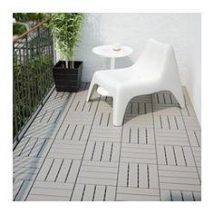 RUNNEN decking, outdoor, gray