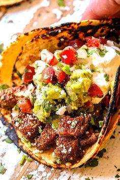 Beef Steak Recipes, Grilling Recipes, Cooking Recipes, Healthy Recipes, Best Carne Asada Recipe, Authentic Carne Asada Recipe, Carne Asada Burrito, Great Recipes, Bon Appetit