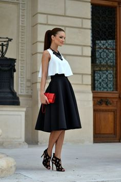 Sleek and sophisticated monochrome is still a big trend and high street shops like Topshop, Mango, and Zara are awash with gorgeous black and white pi...