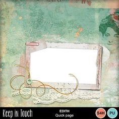 Digital Scrapbooking Kits   Edith-Quick Page-(KITD)   Everyday   MyMemories