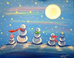 Students could do a snowman pic of their own families art ideas art, winter Christmas Art Projects, Winter Art Projects, School Art Projects, Arte Elemental, 4th Grade Art, Ecole Art, Art Lessons Elementary, Art Classroom, Art Plastique
