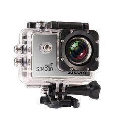 เก็บเงินปลายทาง  SJCAM Original SJ4000 WiFi Version Full HD 1080P 12MP Action Camera30m Waterproof Sports DV Silver - intl  ราคาเพียง  6,197 บาท  เท่านั้น คุณสมบัติ มีดังนี้ NTK96655 + AR0330 solution Wi-Fi Function, the user can operation or review via Android orfor iOS Device Mini appearance, diversified colors available A water-resistant casing that allows you to film fascinatingwater sports Multiple photo shooting modes: Single shot, Snapper Multiple video recording formats: 1080P 720P…
