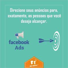 Anunciando com o Facebook Ads, você pode alcançar novos clientes e pessoas interessadas no seu negócio, aumentar a exposição da sua marca ou até mesmo de sua Página.  Realizamos a gestão do conteúdo de sua pagina, organizando, mensurando e qualificando os dados para quaisquer necessidades de impulsionamento, sem nenhuma taxa extra.    #MArketingDigital #FacebookAds    (37) 3016-3133  atendimento@f1mktdigital.com.br  Rua Pernambuco, 2301, Ipiranga - Divinópolis/MG