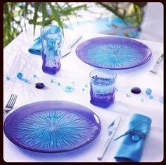 Vajilla de vidrio decorado trivia grey decoraci n - Platos luminarc precios ...