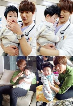 """Choi Jin Hyuk Shows Fatherly Side When Spending Time with Baby from """"Emergency Couple"""""""
