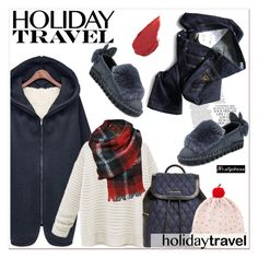 """""""Travel in Style, Holiday Edition"""" by paculi ❤ liked on Polyvore featuring mode, Vera Bradley, Kate Spade, Built by Wendy, Black Rivet, travelinstyle et nastydress"""