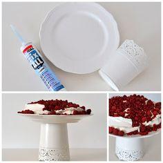 Masni Dekoráció: DIY IKEA hack tortatál / DIY IKEA hack cakeplate