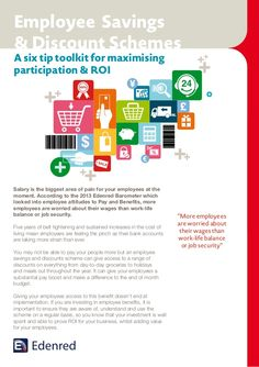 Employee Savings & Discount Schemes - A six tip toolkit for maximising participation & ROI
