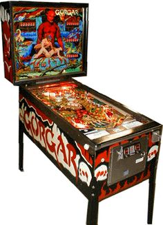 Gorgar by Williams (I hated this machine so much as a kid. I couldn't master it and it drove me nuts. Now, I want one so bad LOL).