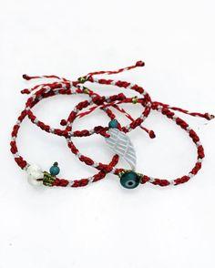 Macrame eye bracelet, mother of pearl bracelet, elephant bracelet friendship bracelet, macrame bracelet, wing bracelet, mother of pearl wing by MardijewelryStore on Etsy