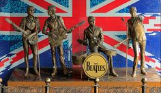 donetsk ukraine - may monument to the beatles on may 29 2012 in donetsk ukraine. monument was installed in 2006 and this is the first monument to the beatles in the former ussr. Beatles Party, The Beatles, Lago Ness, London Tours, Famous Musicians, Day Trip, Ukraine, Camel, 3 D