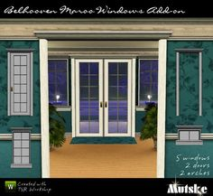 Belhooven Maroo Windows Add-on by mutske  http://www.thesimsresource.com/downloads/924521