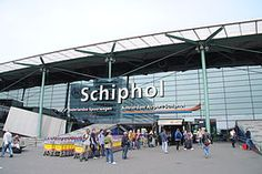 Amsterdam Schiphol Airport.  The coolest airport!
