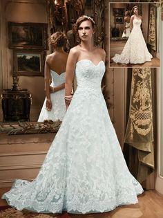a-line-sweetheart-court-train-lace-blue-wedding-dress