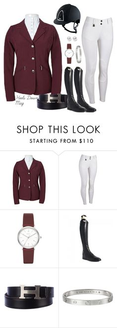 """Monday #ROOTD - Fall Show Outfit"" by heelsdownmagazine ❤ liked on Polyvore featuring DKNY, Parlanti, Hermès, Cartier and Nouv-Elle"