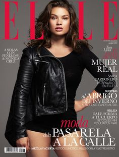 Plus-Size Model Tara Lynn for Elle Spain November 2013-All About Tara