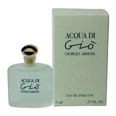 edea3df559 Mini Acqua di Gio by Giorgio Armani 0.17 oz EDT Perfume for Women New In Box