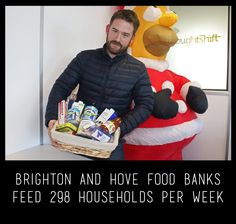 The ThoughtShift agency x Brighton & Hove Food Banks for Christmas 2016  #Foodbank #donation #solidarity #food #human #love #Christmas #inspiration #team #crew #amazing #people #polaroid #society #photography #thoughtshift #agency