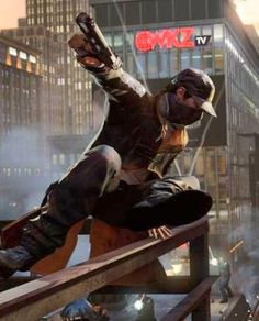 Watch Dogs is only one of many amazing co-op games on PS4.