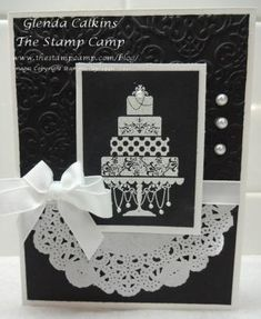 Just Married by Glenda Calkins - Cards and Paper Crafts at Splitcoaststampers