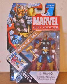 Marvel Universe Beta Ray Bill Series 4 Action Figure Avengers Marvel Legends   eBay