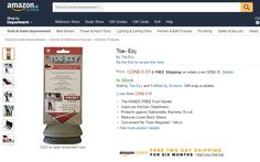 3rd reason to love TOE-EZY: EZY to use and EZY to find. Shop #amazon to order your TOE-EZY https://www.amazon.ca/dp/B01NABUYI4  #12daysofchristmas