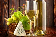 On a Nice Evening With Friends - Wine, Glass, Grape, Wine Bottle, White Wine Glass, Table, Bottle Vine, Drink, Bottle, Vine Leaf