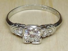 Vintage Antique .46ct Transitional Cut Diamond by DiamondAddiction