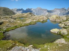 One of Morgon lakes in French Alps  #landscape #morgon #lakes #french #alps #photography