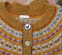 Hillary Fluff and the magic fungi Knitting pattern by bunnymuff - Mona Zillah Fair Isle Knitting, Knitting Yarn, Knitting Patterns, Knitting Sweaters, Jumper, Fingering Yarn, Fungi, Yarn Thread, Lang Yarns