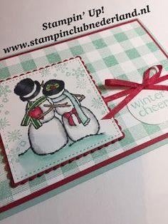 Winter Cheer - Stampin' Up! Spirited Snowmen