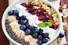Smoothie bowl, un repas hyper tendance - Une base toute simple et pourtant, ça en jette !