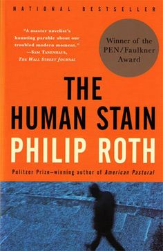 The Human Stain, Philip Roth  If you're a fan of Roth, you're already familiar with a certain Nathan Zuckerman, the narrator of this tale – but the novel is truly about Coleman Silk, a former professor who was ousted due to charges of racism. You may remember the time that Roth wrote to Wikipedia to correct their entry on the novel, and they told him that he wasn't a credible source. If not, get meta with academic novels and online sources here.