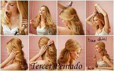 Peinados Faciles Cabello Suelto Paso A Paso Peinados Con Estilo En