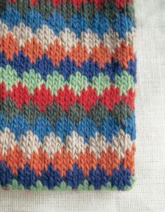 Checked Cowl Pattern - Knitting Patterns and Crochet Patterns from KnitPicks.com