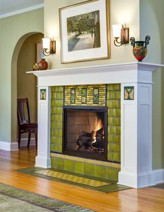 7 Unique Tips and Tricks: Stone Fireplace Mirror fireplace living room dark.Fireplace Decorations How To Build. Tv Over Fireplace, Slate Fireplace, Candles In Fireplace, Fireplace Bookshelves, Paint Fireplace, Fireplace Hearth, Home Fireplace, Living Room With Fireplace, Fireplace Surrounds