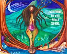 Wollumbini is the Australian Wild Woman and Earth Goddess. She was born in the shadow of the Cloud Catcher - Mt. Warning Australia. Designed by Shikoba and bought to life by Josie Doolan WILD WOMAN SISTERHOOD™ #wildwomangoddess #earthgoddess #wollumbini #wollumbinigoddess #goddess #earth #gaia #wildwoman #earthenspirit #wildwomen #medicinewoman #wildwomanmedicine #wildwomansisterhood