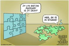 . Afrikaans, Funny Jokes, Puzzle, Lol, Humor, Sayings, Comics, Cartoons, Quotes