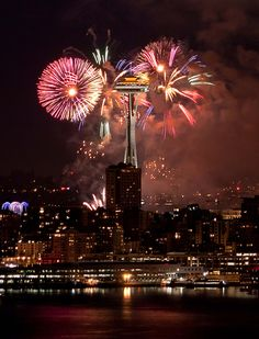 4th of july ~ seattle ~ space needle
