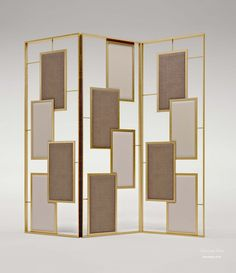 Ширма Mondrian, Bruno Zampa Living Room Partition, Room Partition Designs, Glass Wall Design, Room Divider Screen, Wood Slats, Screen Design, Wall Patterns, Booth Design, Facade House